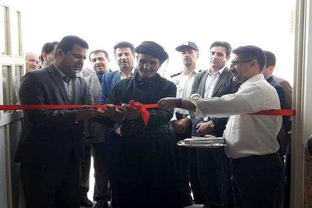 بهره برداری از سه طرح روستایی در بخش خلیفان ، مهاباد