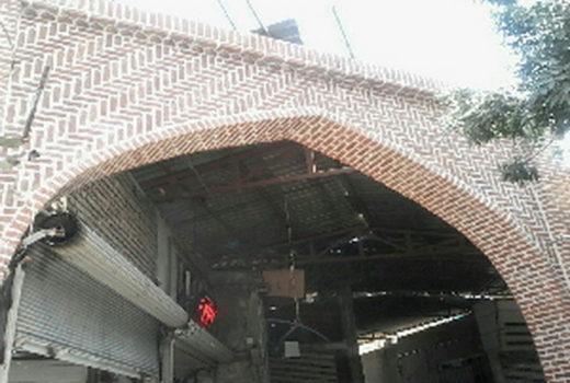ساخت سر در راسته قصابان بازار مهاباد