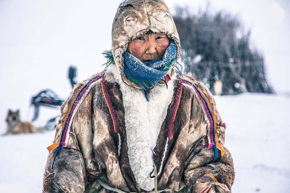 زندگی یک خانواده در سرمای منفی ۵۰ درجه