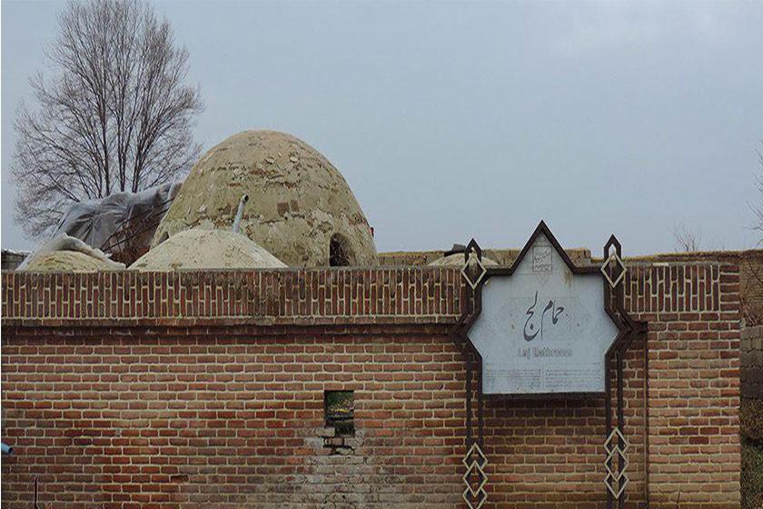 حمام تاریخی (لج ) مهاباد ساماندهی شد 2