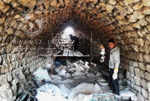 """مرمت کاروانسرای """" کوخ کوترک """" و """" مسجد تاریخی روستای سونیاس """" مهاباد"""