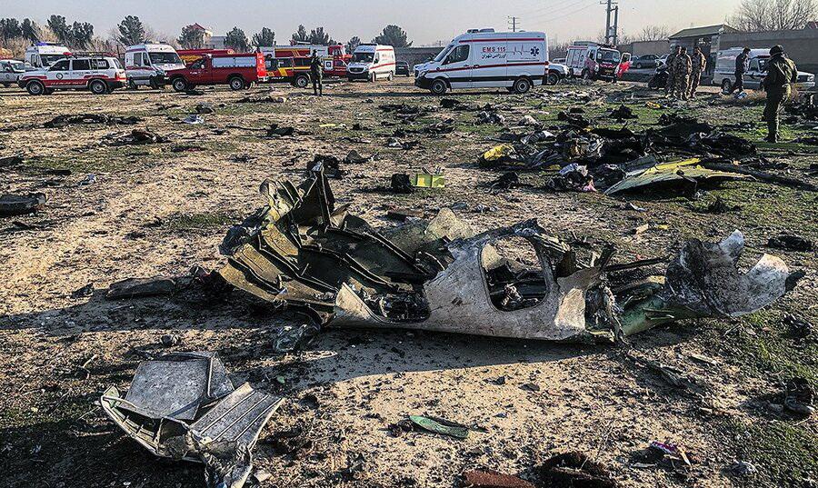 جان باختن پنج شهروند مهابادی در حادثه سقوط هواپیما اوکراینی