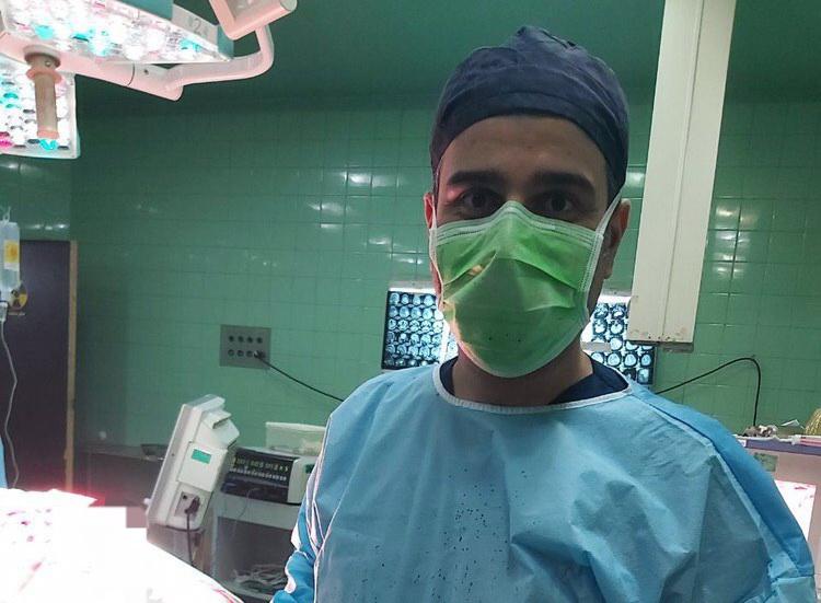 اولین جراحی تومور مغزی در بیمارستان قلی پور بوکان