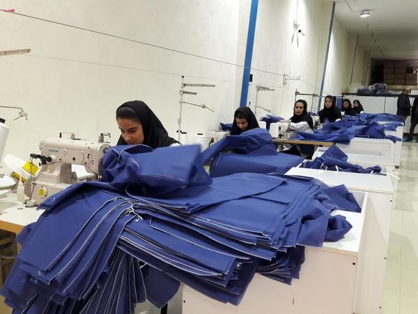 """دو طرح"""" تولیدی و خدماتی"""" مهاباد در دهه فجر ،افتتاح و به بهره برداری رسید"""