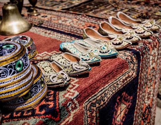 """برپایی نمایشگاه """"صنایع دستی""""نو آموزان و سواد آموزان در بوکان"""