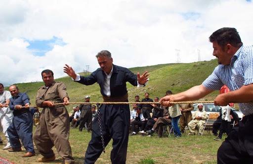 """جشنواره بازی های """" بومی و محلی """" در مهاباد برگزار می شود"""