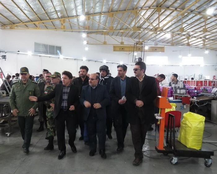دو طرح تولیدی و صنعتی در مهاباد افتتاح و به بهره برداری رسید