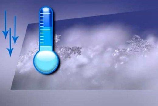 """مهابادی ها هوای 11 """"درجه زیر صفر """"را تجربه کردند"""