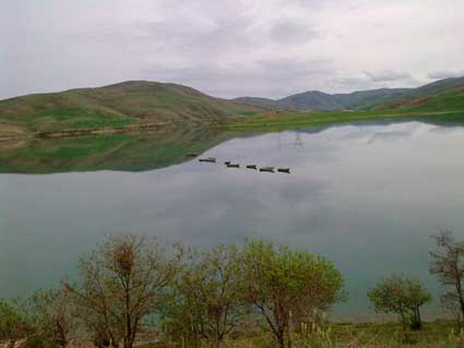 حجم ورودی آب به سد مخزنی مهاباد دو برابر افزایش یافت