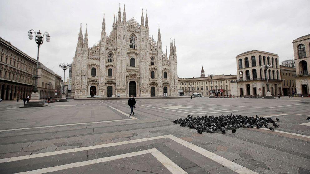 12years in prison awaiting an Italian for hiding Corona