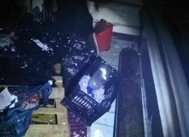 دو حادثه آتش سوزی در مهاباد