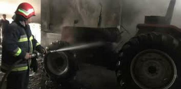 دو حادثه آتش سوزی در مهاباد توسط آتش نشانی این شهرستان مهار شد