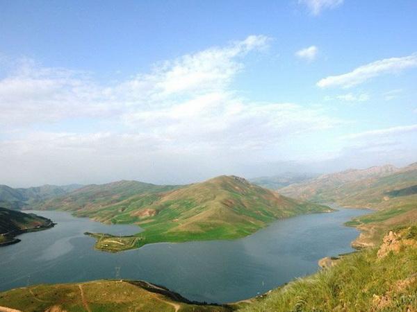 ورودی آب به دریاچه سد مهاباد افزایش یافت