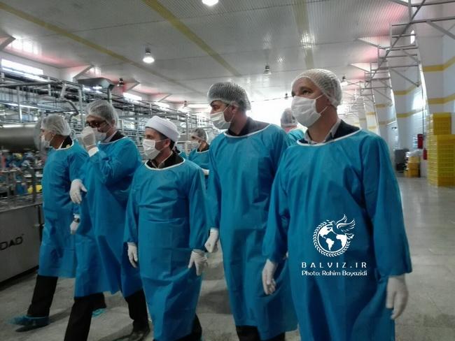 خط تولید ضدعفونی کننده دست ،شرکت شروین مهاباد افتتاح شد