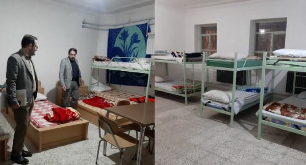 خانه معلم اشنویه ،نقاهتگاه بیماران بهبود یافته و ترخیص شده کرونا