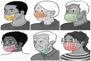 اشتباهات مرگبار هنگام ماسک زدن