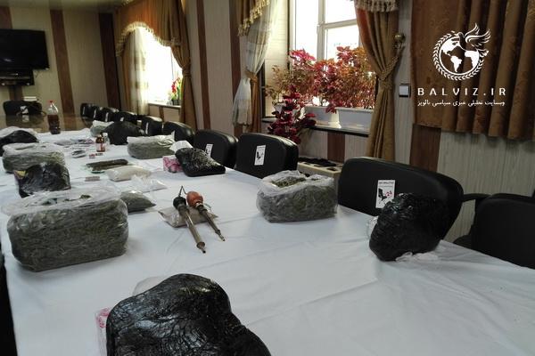 30کیلو گرم مواد مخدر توسط کارگاهان نیروی انتظامی مهاباد کشف شد