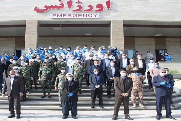 """تقدیر از""""حافظان سلامت"""" مهاباد توسط مدافعان امنیت"""
