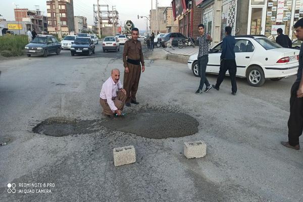 عکس /وقتی که شهروندان مسئولیت پذیربه جای شهرداری دست به کار می شوند