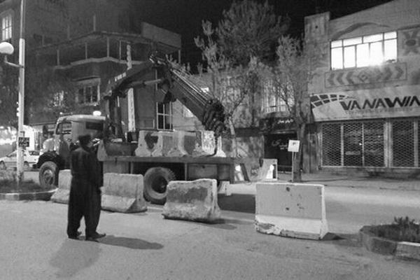 تمام مسیرهای محدوده شهر مهاباد بازگشایی شدند