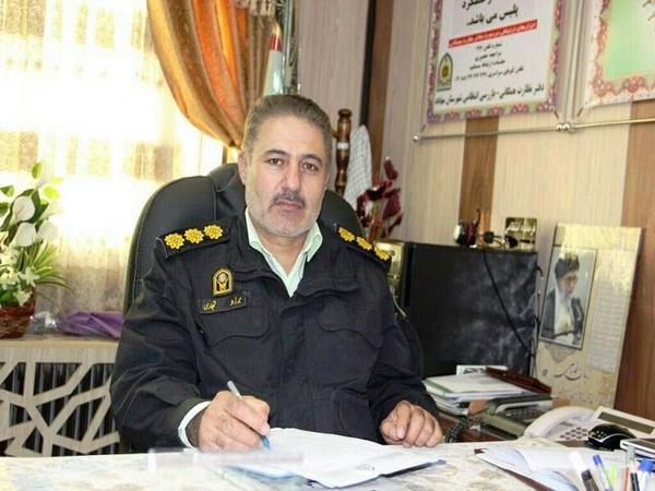 قاتل فراری که در شهرستان مهاباد مخفی شده بود توسط کارگاهان پلیس دستگیر شد