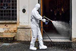 اسپری کردن مواد ضدعفونیکننده در خانهها یا در فضای باز برای کشتن ویروس کرونا، بیتاثیر است