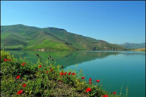 آّب ذخیره شده دریاچه سد مهاباد به بیش از 180میلیون مترمکعب رسید