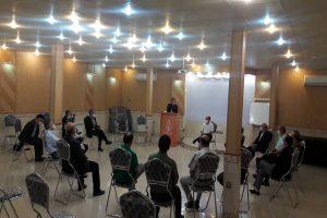 جلسه کمیته فنی راهکارهای پیشگیری و مقابله با کرونا ویروس در مهاباد برگزار شد