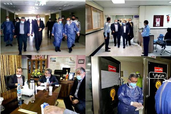 مشکلات عرصه سلامت شهرستان بوکان با حضور معاون وزیر بهداشت مورد بررسی قرار گرفت