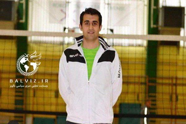 سکان هدایت یکی از پر افتخارترین تیم های اسلوونی برعهده والیبالیست مهابادی