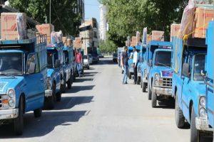 اهداء جهیزیه به 21 نو عروس تحت پوشش بهزیستی آذربایجان غربی