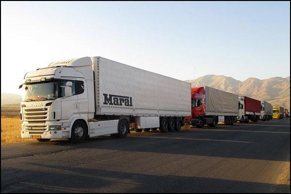 حمل و نقل کالا در آذربایجانغربی بیش از یک میلیون تن افزایش یافت