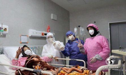 مادر ۱۰۲ ساله مهابادی کرونا را شکست داد