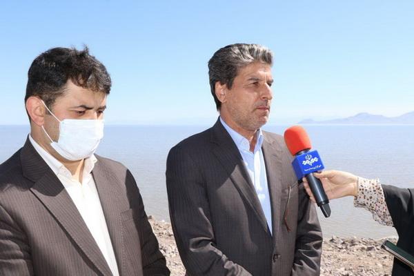 کسری اعتبار پروژه های احیای دریاچه ارومیه تامین شد