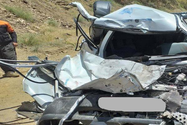 حادثه رانندگی در سردشت دو کشته برجای گذاشت
