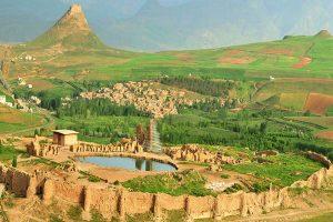 مستندنگاری مجموعه تاریخی تخت سلیمان تكاب