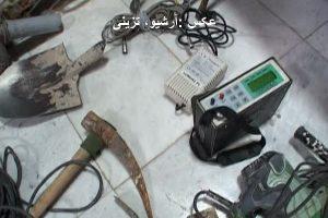 باند حفاران غیرمجاز در مهاباد دستگیر شدند