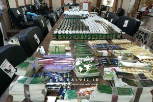 بیش از 80 هزار قرص گیاهی غیر مجاز در مهاباد کشف شد