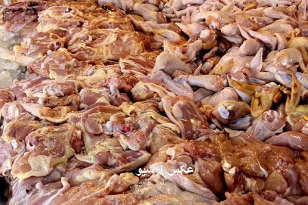 کشف و ضبط بیش از 8 تن گوشت غیر قابل مصرف در مهاباد