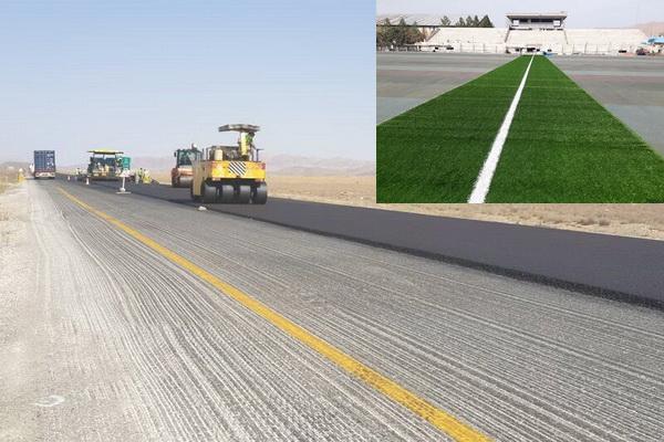 ایمن سازی جاده مهاباد-سردشت و اعتبار برای توسعه فضای ورزشی مهاباد