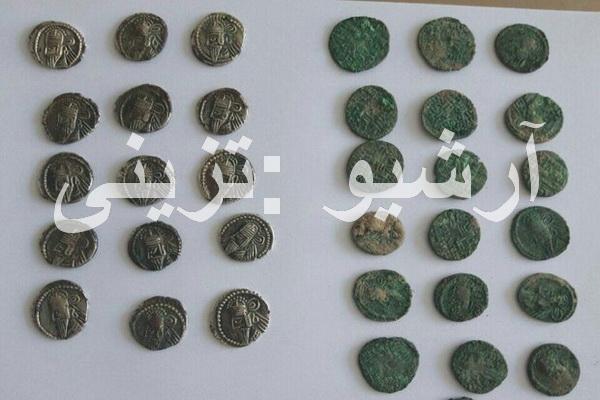 بیش از 30عدد سکه تاریخی در کرمانشاه کشف شد