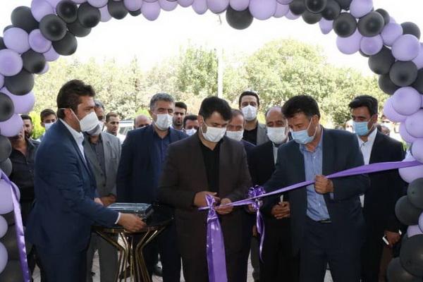 افتتاح دو پروژه صنعتی در مهاباد