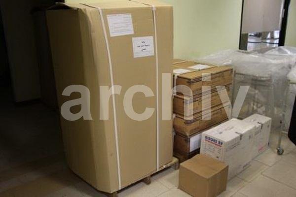 اهدای تجهیزات پزشکی به بیمارستان شهرستان پیرانشهر و تکاب توسط خیرین