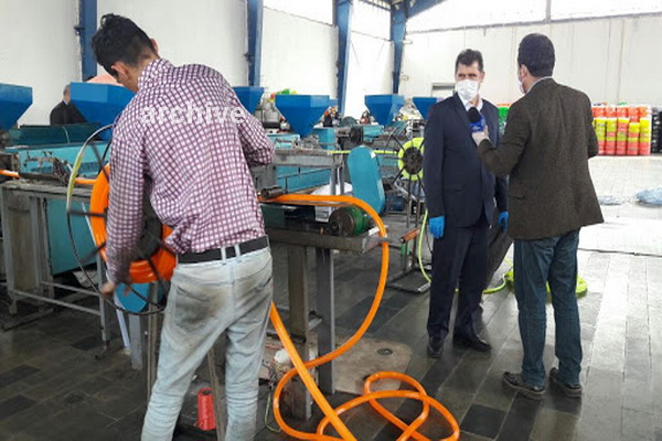 محصولات7 واحد تولیدی شهرستان پیرانشهر به کشور عراق صادر می شود