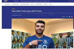 طارمی اولین ایرانی تاریخ باشگاه پورتو شد