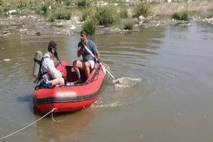 دو جوان گرفتار در سد سردشت نجات یافتند