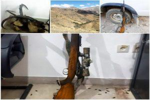 دو نفر دیگر از عاملین شکار کَل و بُز در شهرستان اشنویە دستگیر شدند