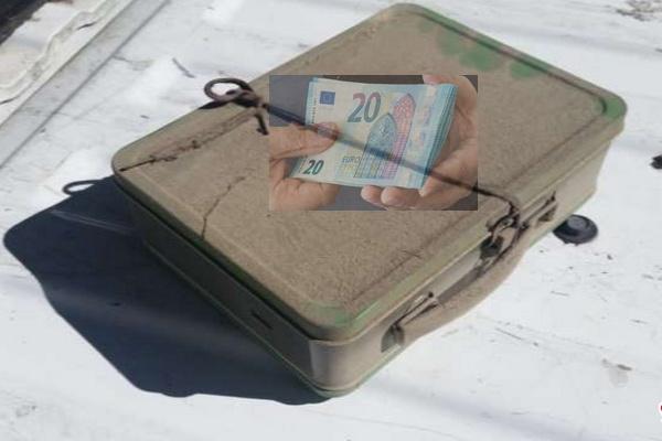 پیدا شدن اتفاقی ۵۰۰ هزار یورو پول نقد در انبار خانه