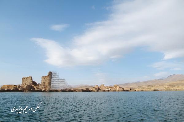 """بیش از 14 هزار نفردر نیمه نخست سال جاری از """"تخت سلیمان"""" تکاب بازدید کردند"""
