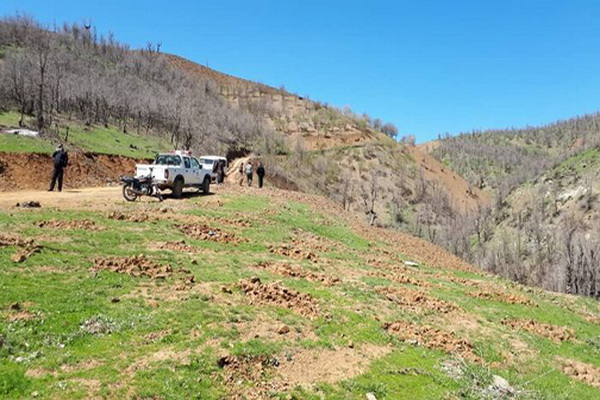 بیش از ۱۰ هزار متر مربع ار اراضی ملی در دو روستای مهاباد خلع ید شد